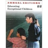 Annual Editions: Educating Exceptional Children 02/03 by DUSHKIN, 9780072506785