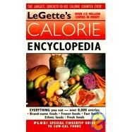 Legette's Calorie Encyclopedia by Legette, Bernard, 9780446356794