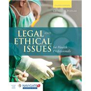 Legal and Ethical Issues for Health Professionals by Pozgar, George D., 9781284036794
