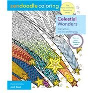 Zendoodle Coloring: Celestial Wonders Starry Skies to Color and Display by Best, Jodi, 9781250126795