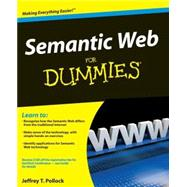 Semantic Web For Dummies by Pollock, Jeffrey T., 9780470396797