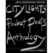 City Lights Pocket Poets Anthology: 60th Anniversary Edition by Ferlinghetti, Lawrence, 9780872866799