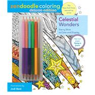 Zendoodle Coloring: Celestial Wonders Deluxe Edition with Pencils by Best, Jodi, 9781250126801