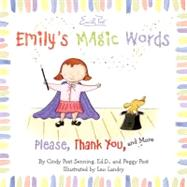 Emily's Magic Words by Senning, Cindy Post, 9780061116803