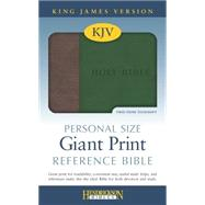 Holy Bible: King James Version, Brown / Green, Flexisoft, Personal Size, Reference Bible by Hendrickson Bibles, 9781619706804