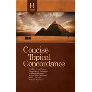 Holman Concise Topical Concordance, Tradepaper by Unknown, 9781433646805