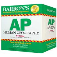 Barron's Ap Human Geography Flash Cards by Marsh, Meri; Alagona, Peter S., Ph.D., 9781438076805