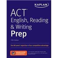 Act English, Reading & Writing Prep by Kaplan Test Prep, 9781506236810