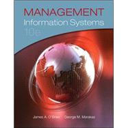 Management Information Systems by O'Brien, James; Marakas, George, 9780073376813