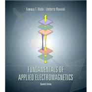 Fundamentals of Applied Electromagnetics by Ulaby, Fawwaz T.; Ravaioli, Umberto, 9780133356816