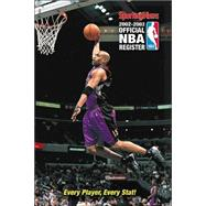 Official Nba Register 2002-2003 Ed by WALTON, 9780892046829