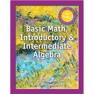 MyMathLab for Lial Basic Math, Introductory and Intermediate Algebra -- Access Card -- PLUS MySlideNotes by Lial, Margaret L.; Hornsby, John; McGinnis, Terry, 9780133976830