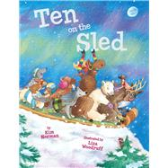 Ten on the Sled by Norman, Kim; Woodruff, Liza, 9781454916833