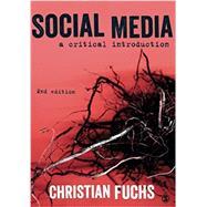 SOCIAL MEDIA by Fuchs, Christian, 9781473966833