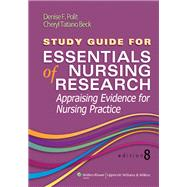 Study Guide for Essentials of Nursing Research by Polit, Denise F.; Beck, Cheryl Tatano, 9781451176834