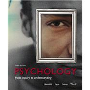 Psychology From Inquiry to Understanding (paperback) Plus NEW MyPsychLab with Pearson eText -- Access Card Package by Lilienfeld, Scott O.; Lynn, Steven J.; Namy, Laura L., 9780205966837