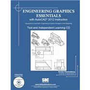 Engineering Graphics Essentials With Autocad 2012 Instruction by Plantenberg, Kirstie, 9781585036837