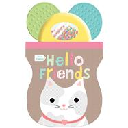 Little Friends: Hello Friends Shaker Teether by Priddy, Roger, 9780312516840