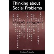 Thinking About Social Problems: An Introduction to Constructionist Perspectives by Unknown, 9780202306841