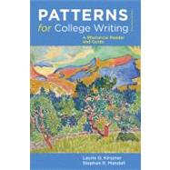 Patterns for College Writing : A Rhetorical Reader and Guide by Kirszner, Laurie G.; Mandell, Stephen R., 9780312676841