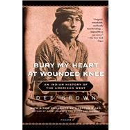 Bury My Heart at Wounded Knee An Indian History of the American West by Brown, Dee, 9780805086843