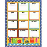 School Tools Birthday Chart by Carson-Dellosa Publishing Company, Inc., 9781483836843