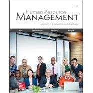 Human Resource Management by Noe, Raymond; Hollenbeck, John; Gerhart, Barry; Wright, Patrick, 9781260076844