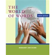 The World of Words by Richek, Margaret Ann, 9781133586845