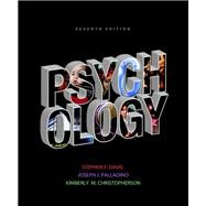 Psychology by Davis, Stephen F.; Palladino, Joseph J.; Christopherson, Kimberly, 9780205846849