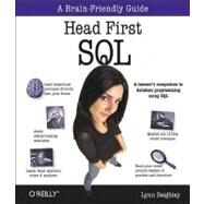 Head First SQL by Beighley, Lynn, 9780596526849