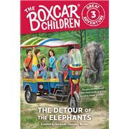 The Detour of the Elephants by Warner, Gertrude Chandler (CRT); Garretson, Dee; Lee, J. M.; VanArsdale, Anthony, 9780807506851