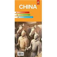 China Travel Map by Panda Guides Pub Inc, 9780992026851