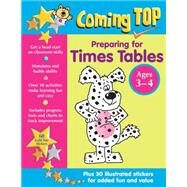 Preparing for Times Tables, Ages 3-4 by Somerville, Louisa, 9781861476852
