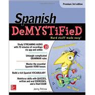 Spanish Demystified, Premium 3rd Edition by Petrow, Jenny, 9781259836855