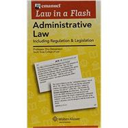 Emanuel Law in a Flash for Administrative Law by Stevenson, Drury D., 9781454846857