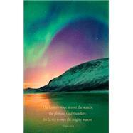 Aurora Borealis Scripture Series Bulletin, Regular Size by Abingdon Press, 9781426776861