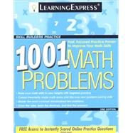 1001 Math Problems by Learning Express LLC, 9781576856864