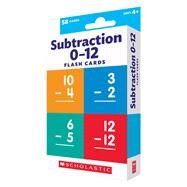 Flash Cards: Subtraction by Unknown, 9780545906869