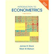 Introduction to Econometrics, Update by Stock, James H.; Watson, Mark W., 9780133486872