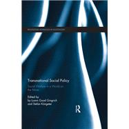 Transnational Social Policy: Social Welfare in a World on the Move by Good Gingrich; Luann, 9781138956872