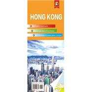 Hong Kong Travel Map by Panda Guides Pub Inc, 9780992026875