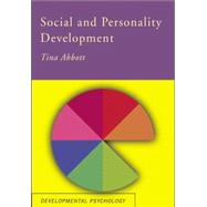 Social and Personality Development by Abbott,Tina, 9781138876880