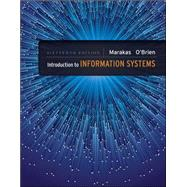 Introduction to Information Systems - Loose Leaf by Marakas, George; O'Brien, James, 9780073376882