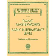 Piano Masterworks - Schirmer's Library of Musical Classics by Hal Leonard Publishing Corporation, 9781495006883