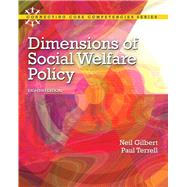 Dimensions of Social Welfare Policy by Terrell, Paul, 9780205096893