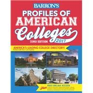 Profiles of American Colleges 2017 by Barron's College Division, 9781438006895