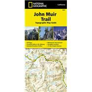 John Muir Trail Topographic Map Guide: Topographic Map Guide by National Geographic Maps - Trails Illustrated, 9781566956895