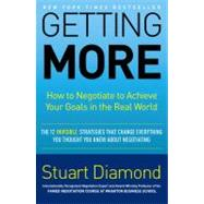 Getting More by Diamond, Stuart, 9780307716897