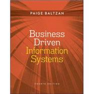 Business Driven Information Systems by Baltzan, Paige; Phillips, Amy, 9780073376899