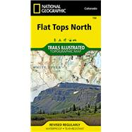National Geographic Flat Tops North Map by National Geographic Maps - Trails Illustrated, 9781566956901